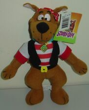 SCOOBY- DOO 'Pirate' Standing Soft/ Plush Toy VHTF BNWT 28cm