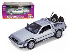 Welly Models 1/24 Scale - 22443w Back to The Future Part 1 Delorean Time Machine