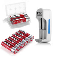 EBL 3000mAh 18650 3.7V Li-ion Rechargeable Batteries / Charger for 18650 16340
