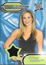 2002 Fleer WWF Royal Rumble Divastating Stacy Keibler Shirt Relic Card