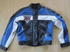 Gepflegte Motorradjacke aus Leder von Polo FLM für Damen mit Größe 40 / M