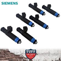 6 x Siemens Deka 80lb 850cc Fuel Injector suit BA BF Ford Falcon XR6 Turbo & F6