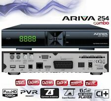 FERGUSON ARIVA 254 COMBO FULL HD RECEIVER FREESAT CABLE TV NC CYFRA CI+