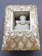 Margaret Furlong 2� Daisy Porcelain Bisque Angel Christmas Ornament 1993 Garden