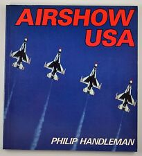 Vintage Airshow U.S.A By Phillip Handleman paperback  Book Airplane Aviation