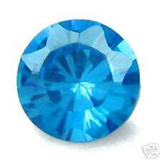 3.80 ctw 9x7 mm Oval Blue CZ Grade AAAAA