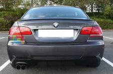 BMW SERIE 3 E92 E93 06-12 TERMINALI DI SCARICO INOX DOPPIO USCITA ACCIAIO INOX
