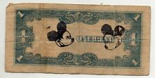Philippines Japanese Government Banknote JIM 1 peso 1943 P109 MICKEY MOUSE Money