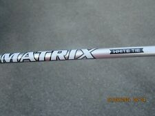 Matrix White Tie MFS 55R Driver Shaft for Taylormade