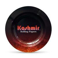 "Ashtray Kashmir 5"" Metal Cigarette 3 Cigars Home Ceramic Tobacco Holder"