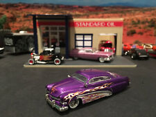 1:64 Hot Wheels LE 1951 51 Merc Mercury Purple with Flames Legends