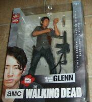 """McFarlane THE WALKING DEAD GLENN TV SERIES DELUXE 10"""" FIGURE BRAND NEW"""