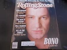 U2, Boy George, Mikhail Baryshnikov - Rolling Stone Magazine 1987