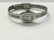 RARE VINTAGE WALTHAM LADIES SILVER TONE QUARTZ WATCH (XL-763-202)