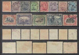 Belgium 1915-20 small selection.Sc.108-20.
