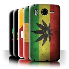 STUFF4 Back Case/Cover/Skin for HTC Desire HD/G10/Rasta Reggae Art