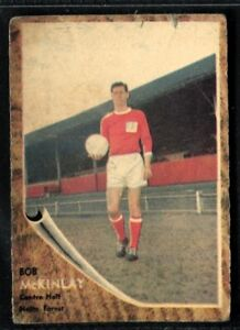 A&BC Gum, FOOTBALLERS, Make A Photo, 1963, Bob McKinlay, Nottingham Forest, #77