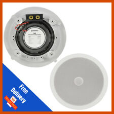 """Adastra C6D Ceiling Speaker With Directional Tweeter 100 W 6.5"""" Pouces Blanc 16 cm"""