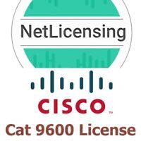 Cisco Catalyst 9600 License, Original Smart License, E-Delivery