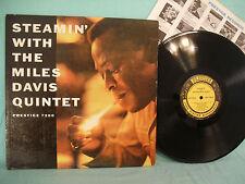 Steamin With The Miles Davis Quintet, Prestige PRLP 7200, 1961, JAZZ, Hard Bop