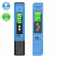 Medidor de prueba de calidad del agua pancellent TDS PH EC TEMPERATURA 4 en 1 Set para