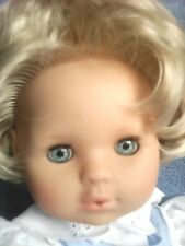 Zapf Blonde Activated Vintage Baby Doll