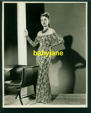 EVE ARDEN VINTAGE 8X10 PHOTO 1946 JEAN-LOUIS FASHION KID FROM BROOKLYN