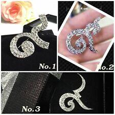 Crystal Collectible Souvenir Thai King Bhumi Jewelry Pin Brooch Symbol No.9 Thai