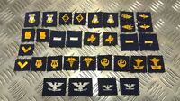 Genuine US NAVY NAVAL Collar Device Patches Various Insignia USN 1 Pair NEW