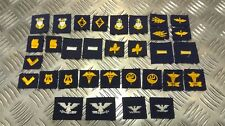 Genuine US NAVY NAVAL / Coastguard Collar Device Patches Asst Insignia USN - NEW