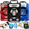 Portable Outdoor Super Bass Stereo Wireless Bluetooth Speaker w/ USB/TF/FM Radio