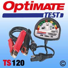 Optimate TS120 Battery / Alternator Tester (TS120) UK Supplier & Warranty NEW