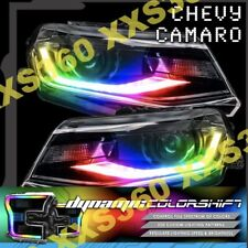 ORACLE Chevrolet Camaro 16-18 Headlight DRL Upgrade Kit COLORSHIFT DYNAMIC