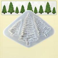 Christmas Tree Silicone Fondant Mould Cake Decorating Baking Mold Sugarcraft