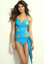 Costume Da Bagno Monokini Aperto Fasce Fiocco slim sling Swimwear Swimsuit S