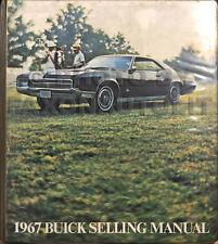 1967 Buick Data Book Dealer Album GS Skylark Riviera Electra LeSabre Etc
