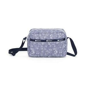 LeSportsac BTS Collection Daniella Crossbody Bag in BT21 Denim NWT
