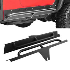 Fit 87-06 Jeep Wrangler YJ Running Board Side Step  Armor Guard Bar Nerf 2 doors
