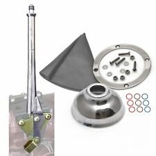 11 Transmission Mount Emergency Hand Brake with Grey Boot, Silver Ring and Cap