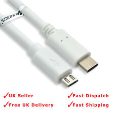 USB-C Cable, USB 3.1 Type C to USB 2.0 Micro USB Cable (USB-C to USB-B) 100cm