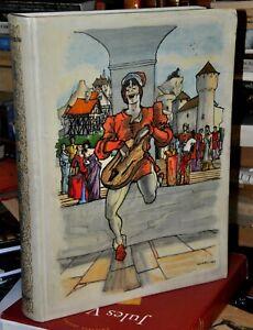 Les Grands Troubadours. Illustrations d'Ansaldi. RELIURE ILLUSTRÉE