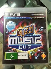 buzz The Ultimate music quiz PS3