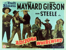 RARE 16mm  Feature: ARIZONA WHIRLWIND (Key Meynard / Hoot Gibson / Bob Steele)