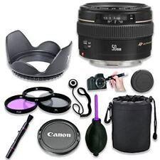 Canon ef 50 mm f 1.4 Usm Standard   teleobjetivo medio para cámaras SLR  Canon 03d28cecd35