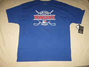 New York Rangers T Shirt New W/Tags Men's 2XL Champion NYR NHL Hockey