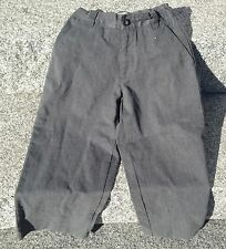 The Children's Place Boys Dress Pants Gray Adjustable Waist Size 4 NWT New