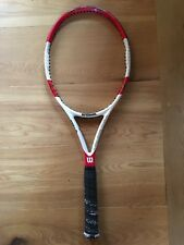 Used 2014 Wilson Pro Stock 6.1 95 18x20 332g Grip Size 4 Tennis Racquet/ Racket
