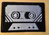 Kassette Aufbügler / Aufnäher tape patch oldschool Vintage Retro Musik Punk Rock