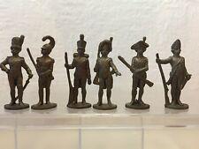 Soldaten 18.-19. Jahrhundert Komplet Satz 40mm. Messing