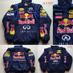 Mens TOp Car enthusiasts redbull Cotton padded clothes Jacket F1 team racing